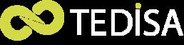 logo tedisa en blanco para web de ingenieria electronica