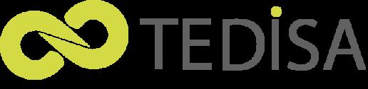 logo transparente tedisa para el footer