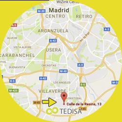 localizacion tedisa diseño y tecnologia en Madrid
